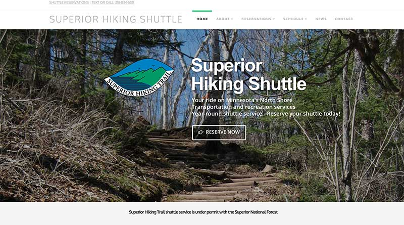 Superior Hiking Shuttle
